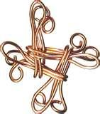 Photos of Copper Wire Knot