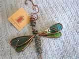 Pictures of Copper Wire Dragonfly