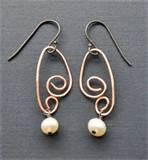 How Copper Wire Earrings