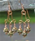 Pictures of How Copper Wire Earrings