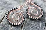 Copper Wire Work Jewelry Photos