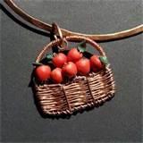 Copper Wire Apple Photos