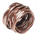 Images of Copper Wire Rings Jewelry