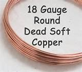 Copper Wire 12 Gauge Dead Soft Photos