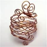 Copper Wire Rings Jewelry Pictures