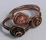 Copper Wire Rings Jewelry