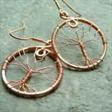 Copper Wire Trees Photos