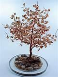 Pictures of Copper Wire Trees