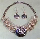 Pictures of Copper Wire Wrapped Jewelry