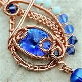 Copper Wire Wrapped Jewelry