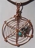 Images of Copper Wire Spiders