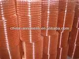 Copper Wire Mesh Rolls Pictures