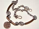 Images of Copper Wire Jewelry Designs